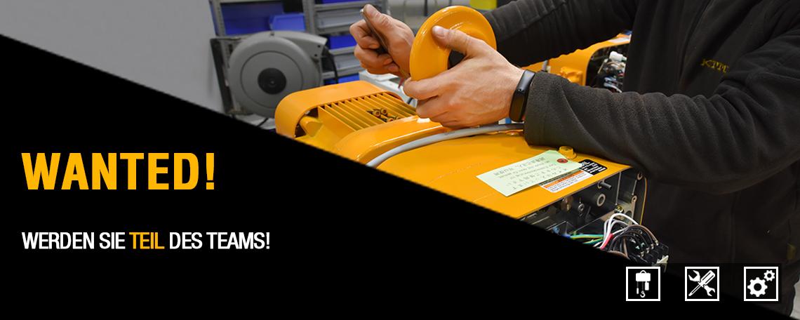 Mechatroniker (m/w/d) - Job - Karriere bei KITO EUROPE - Application form