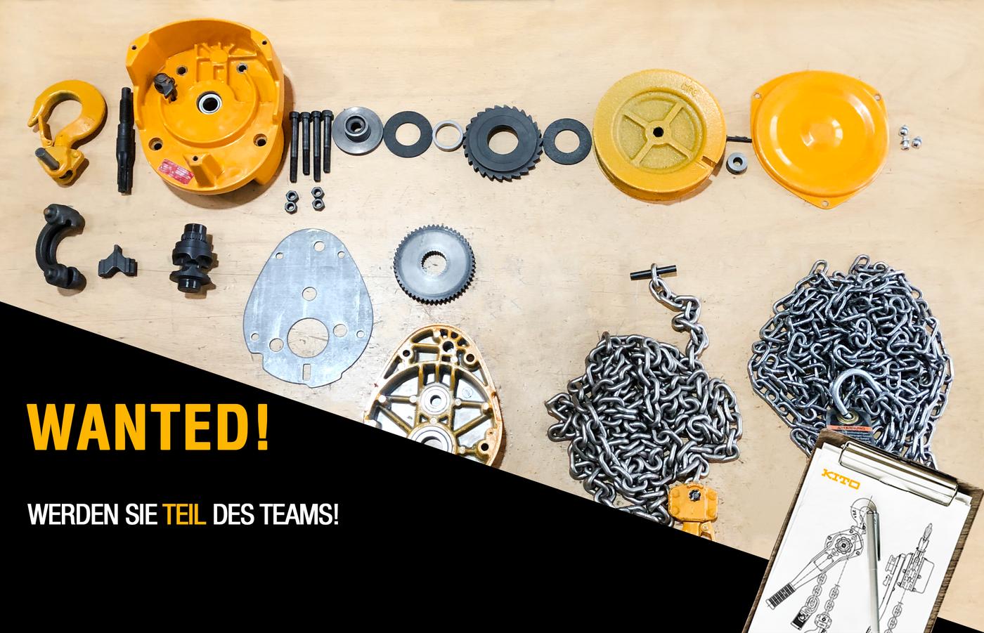 Mitarbeiter für den technischen Support & als Produkttrainer (m/w/d) - Job Düsseldorf - Karriere bei KITO EUROPE - Application form