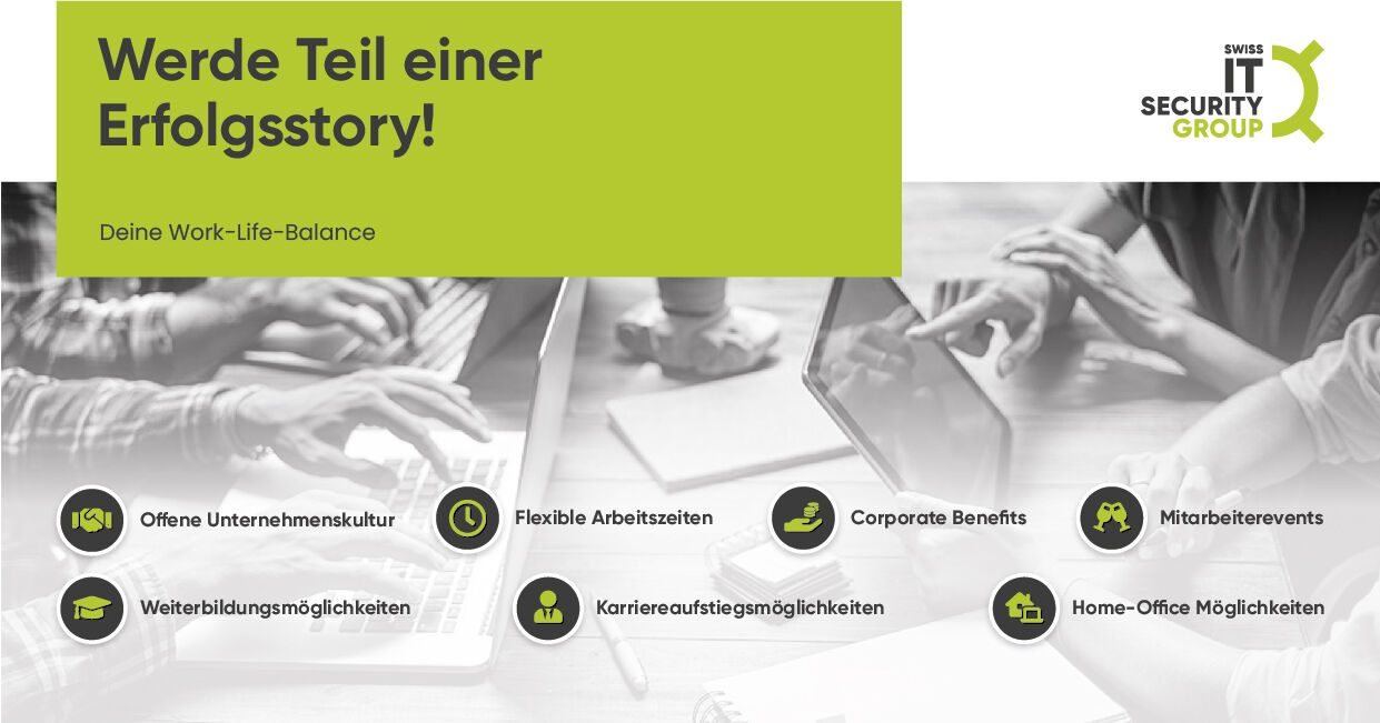 TEAMLEAD FINANCIAL ACCOUNTING @ Swiss IT Security Group AG - Job Wettingen, Home office - Karriere bei Swiss IT Security Group