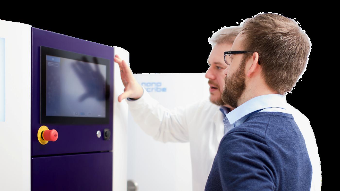 Software Engineer (m/f/d) - Machine Control - Job Eggenstein-Leopoldshafen - Jobs at Nanoscribe
