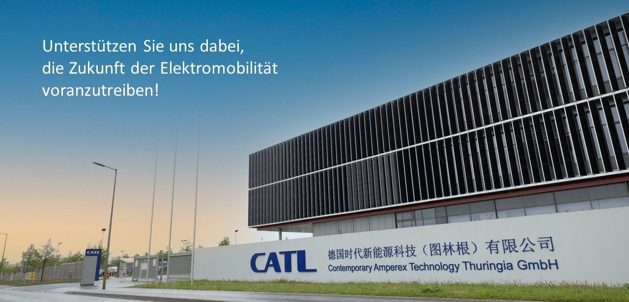 Facility Spezialist - Projektkoordination (m/w/d) - Job Arnstadt - Karriere bei CATL