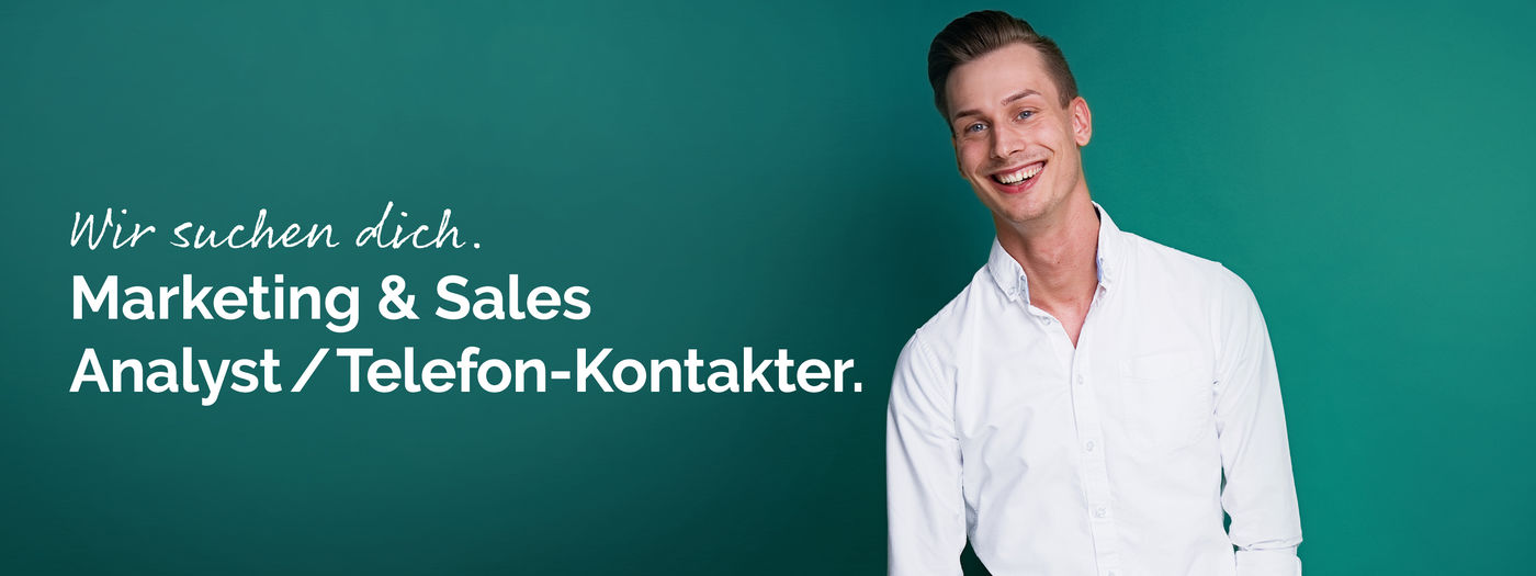 Marketing & Sales Analyst / Telefon-Kontakter (m/w/d) - Job Hilden - Frings Karriereportal