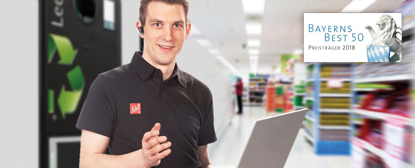Servicetechniker (m/w/d) im Außendienst im Raum Rosenheim - Job Home office - Sielaff Stellenangebote - Post offer form