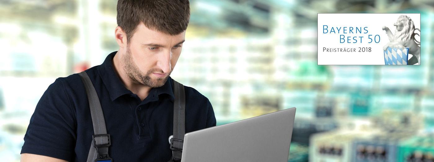 Wartungstechniker (m/w/d) im Außendienst im Raum Wuppertal - Job Home office - Sielaff Stellenangebote - Post offer form