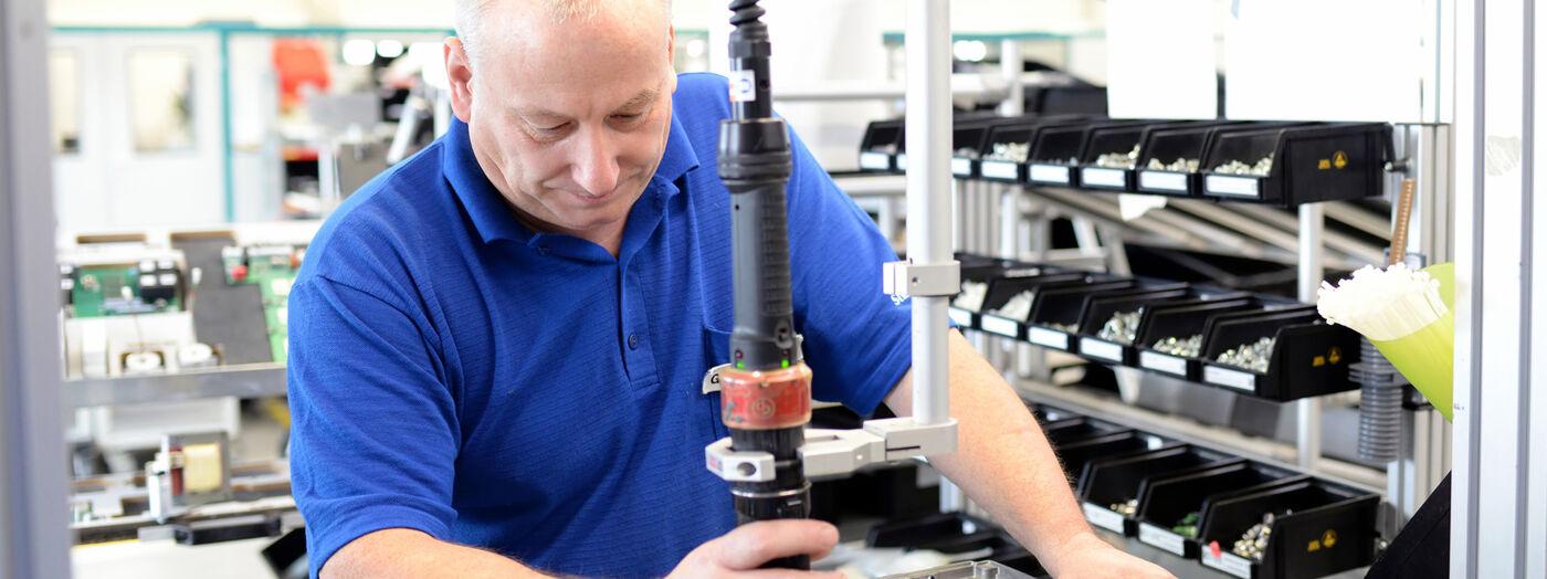 Produktionsmitarbeiter (m/w/d) Pressenmontage - Job Herrieden - Sielaff Stellenangebote