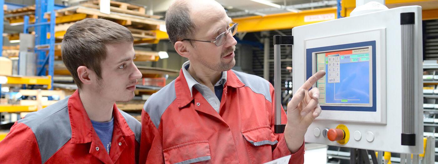 Einsteller / Maschinenbediener (m/w/d) Roboterschweißanlagen - Job Herrieden - Sielaff Stellenangebote