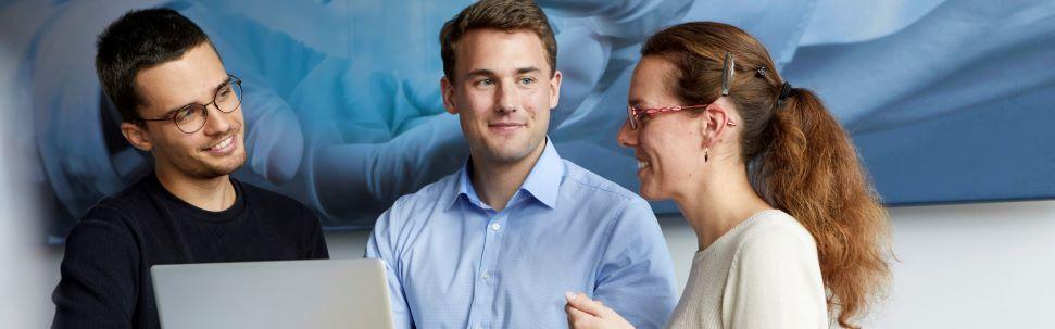 Werkstudent im Bereich Frontend Development (m/w/d) (16 - 19 Std./Woche) - Job Planegg - Career@LEUKOCARE AG