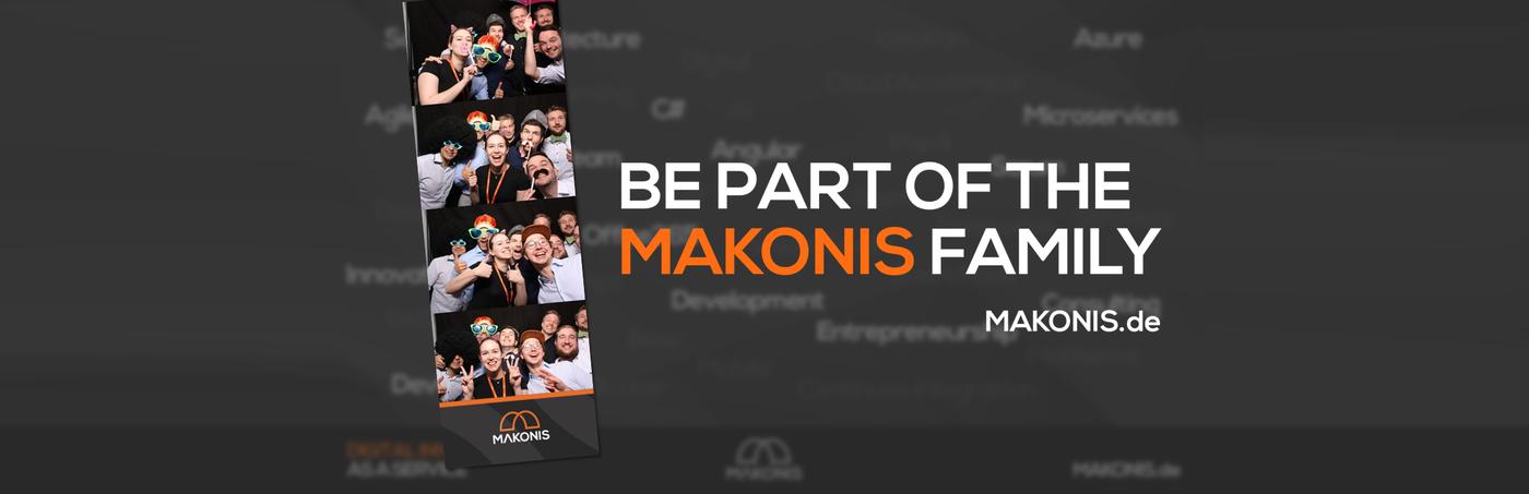Werde Teil der MAKONIS-Familie!