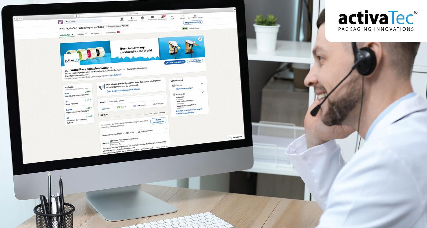 Online Marketing Spezialist (m/w/d) - Job Marienheide - activaTec - Application form