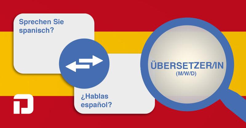 Übersetzer/in - ES (m/w/d) - Job Wecker - Stellenangebote PRAXISDIENST - Application form