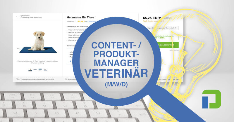Content-/Produktmanager/in (m/w/d) - Veterinärmedizin - Job Wecker - Stellenangebote PRAXISDIENST - Application form