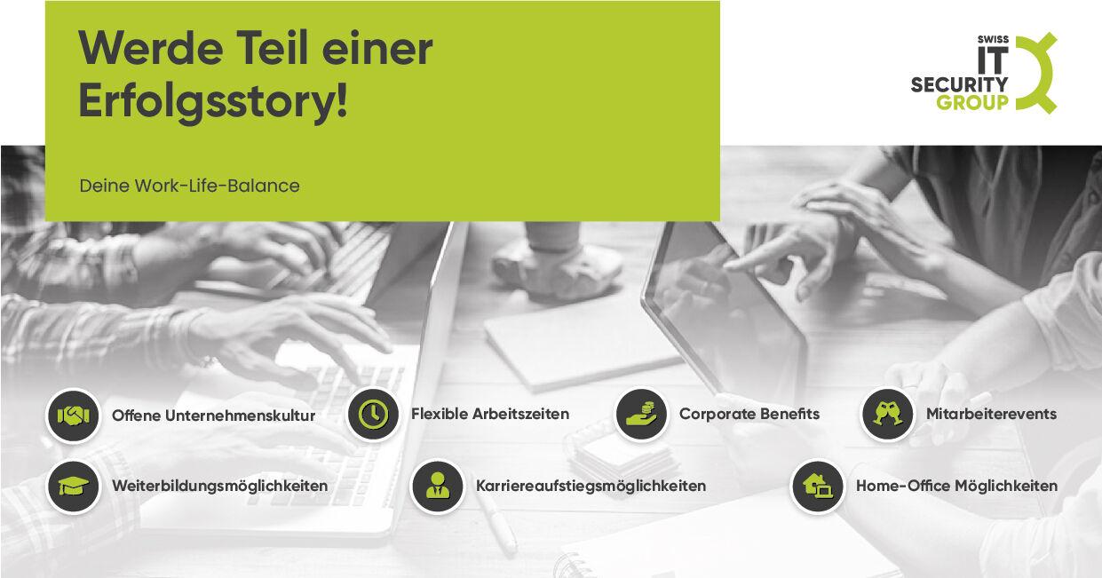 INITIATIVBEWERBUNG (w/m/d) - Job - Karriere bei Swiss IT Security Group
