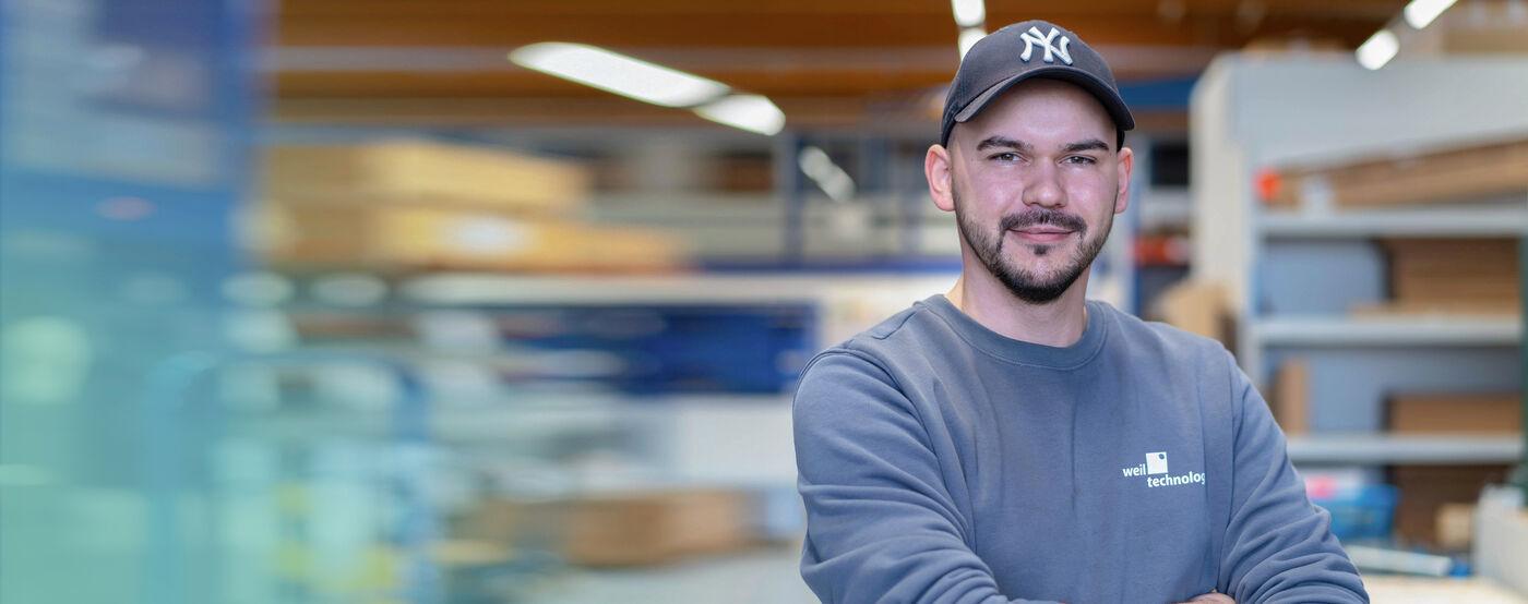 Mitarbeiter Wareneingangskontrolle (m/w/d) - Job Müllheim - Stellenangebote   Weil Technology - Application form