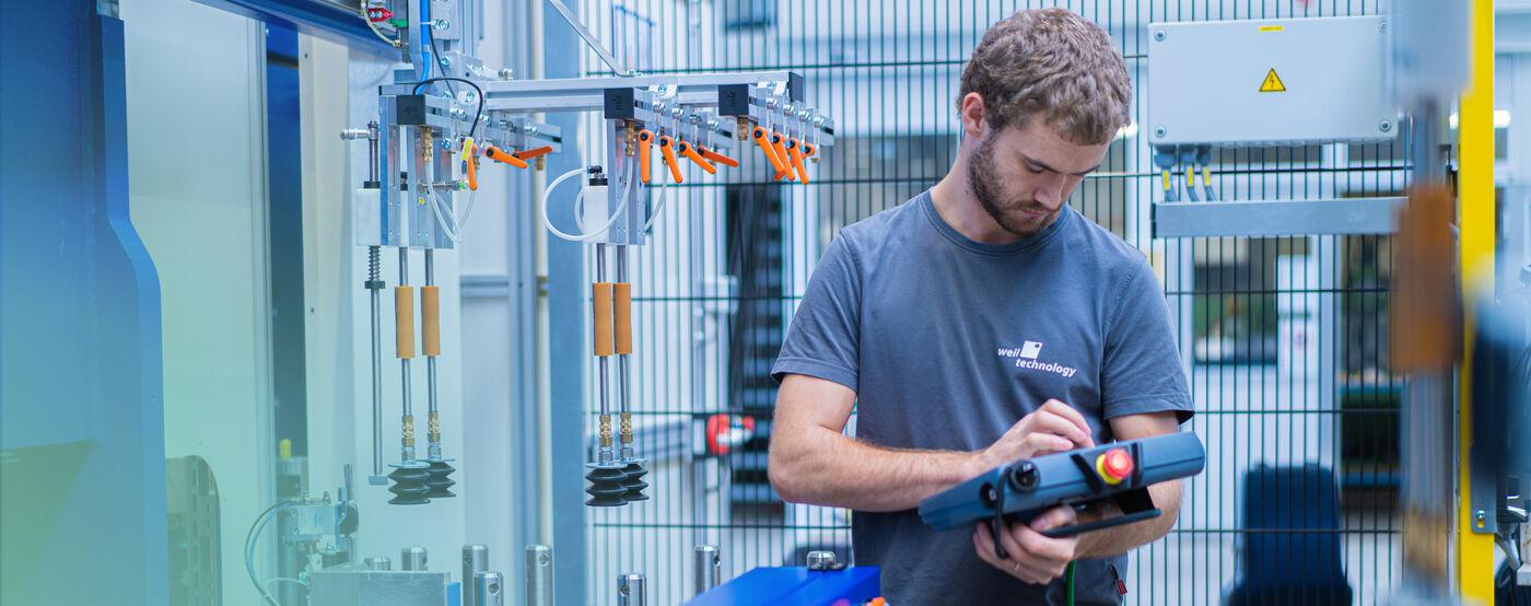 Monteur/Inbetriebnehmer (m/w/d) - Job Müllheim - Stellenangebote | Weil Technology
