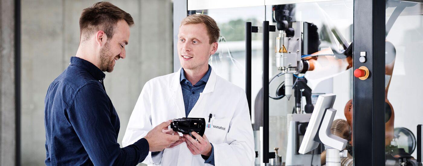 Duales Studium - Mechatronik/Automatisierung - Job Steinhagen - Karriere - Stellenangebote I Plasmatreat GmbH - Application form