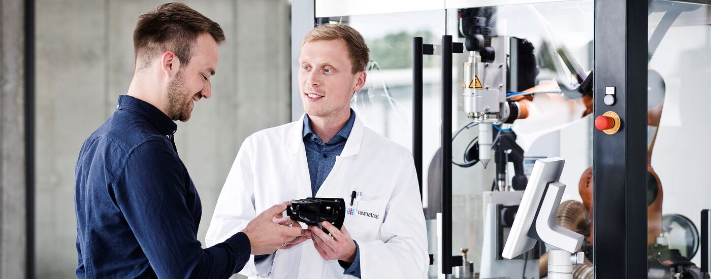 Servicetechniker im Innendienst (m/w/d) - Job Steinhagen - Karriere - Stellenangebote I Plasmatreat GmbH - Application form