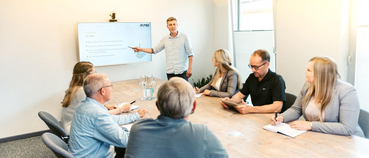 Mitarbeiter (m/w/d) für Vertrieb und Kundenmanagement Wärme Reußenköge - Job Reußenköge - Karriere bei GP-JOULE - Für Zukunftsdenker