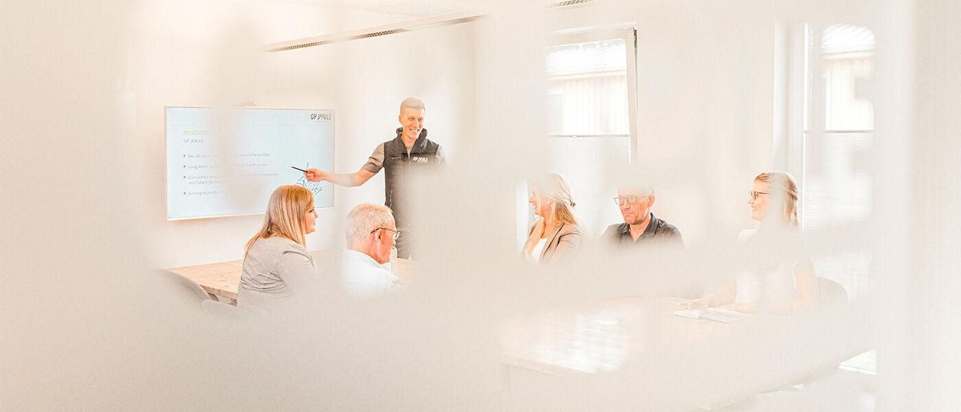 Technischer Projektmanager (m/w/d) für innovative Sektorkopplungs- und Wärmeprojekte Reußenköge - Job Reußenköge - Karriere bei GP-JOULE - Für Zukunftsdenker