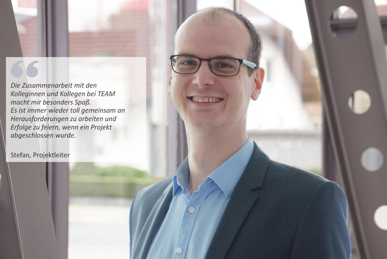 IT-Projektleiter*in Intralogistiksoftware - Job Paderborn, Homeoffice - Deine Karriere bei TEAM - Application form